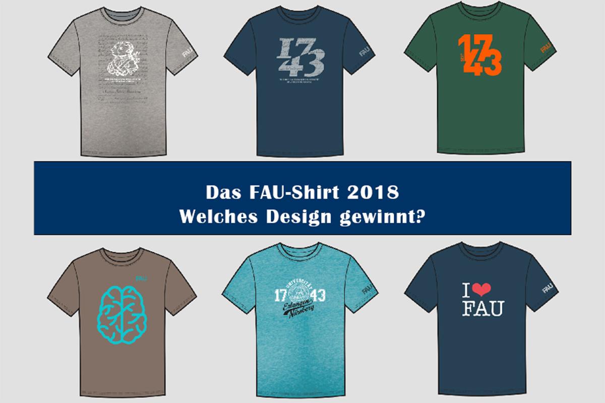 Collage der T-Shirt-Designs