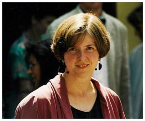 Portraitfoto von Prof. Dr. Maria Kufner aus dem Jahr 1995