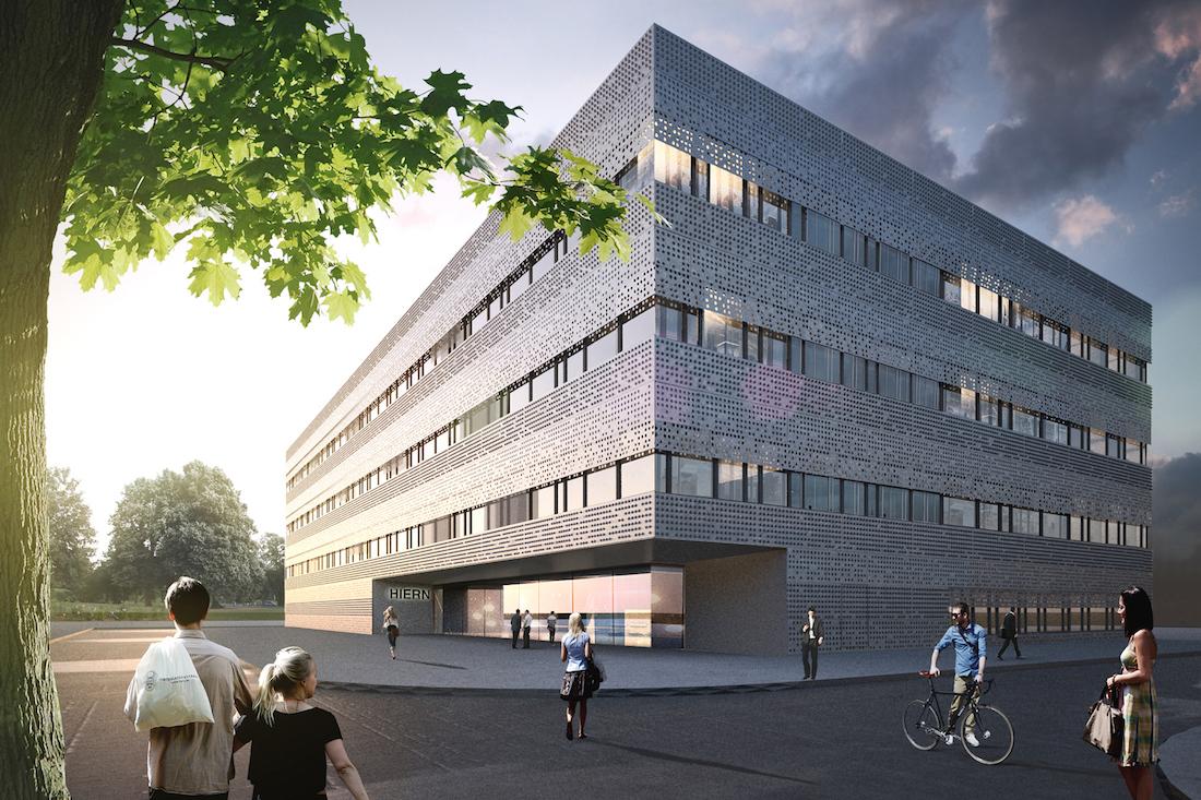 Architekt Erlangen Nürnberg: Richtfest: Helmholtz-Institut Erlangen-Nürnberg