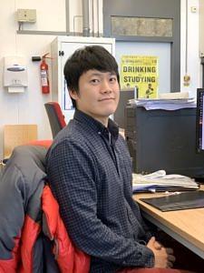 Humboldt-Stipendiat Dr. Sungwhan Shin (Bild: Francesco Greco)