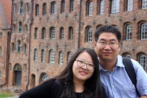 Dr. Xi Wang und seine Frau Jun Guo (Bild: Xi Wang)