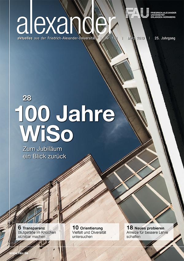 Cover FAU-Magazin alexander 110