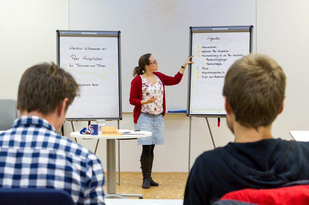 Lehren lernen am FBZHL (Bild: FAU/Franziska Sponsel)