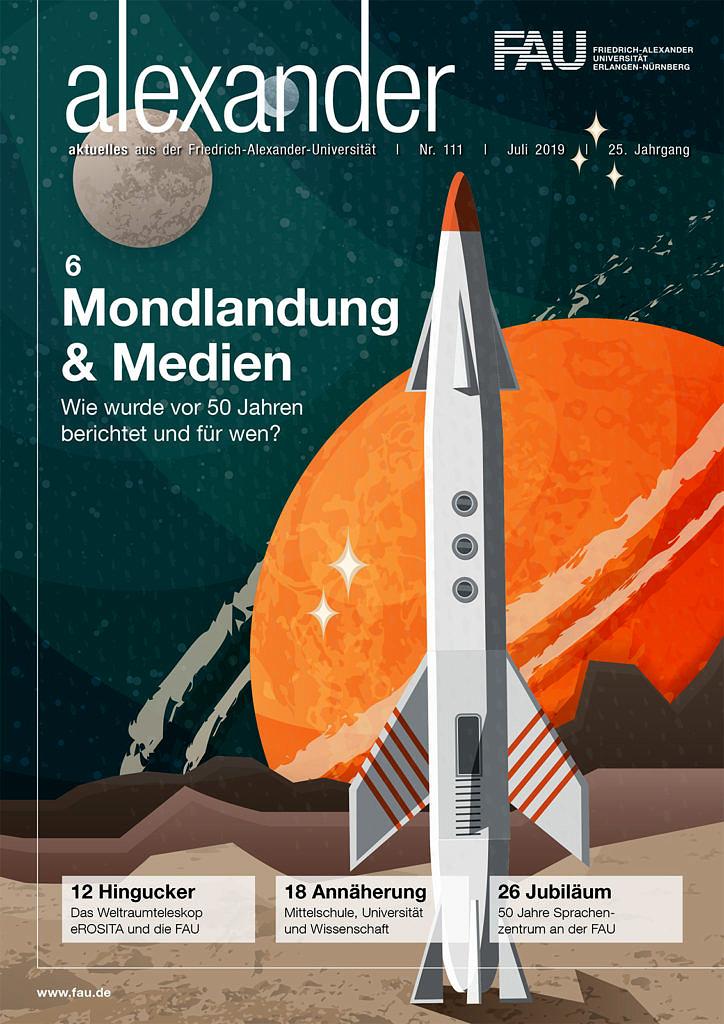 Cover FAU-Magazin alexander 111