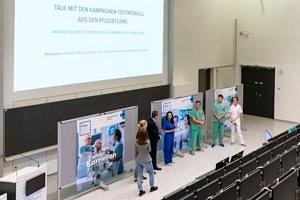 Kampagnenstart der neuen Employer Brand des Pflege- und Funktionsdienstes am Universitätsklinikum Erlangen.