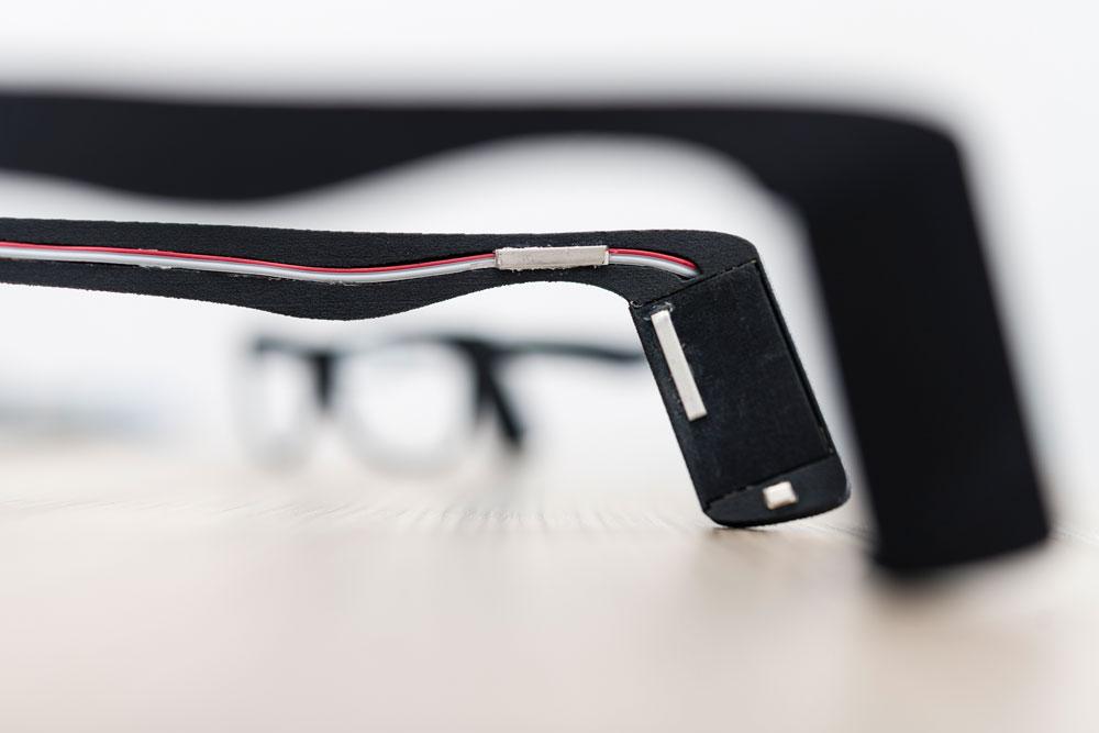 Bügel einer KI-Brille