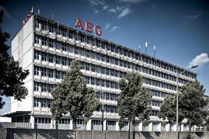 AEG Gebäude in Nürnberg.