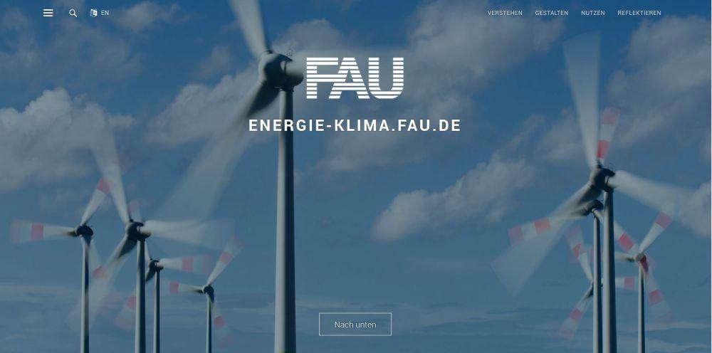 Energie-Klima Map FAU