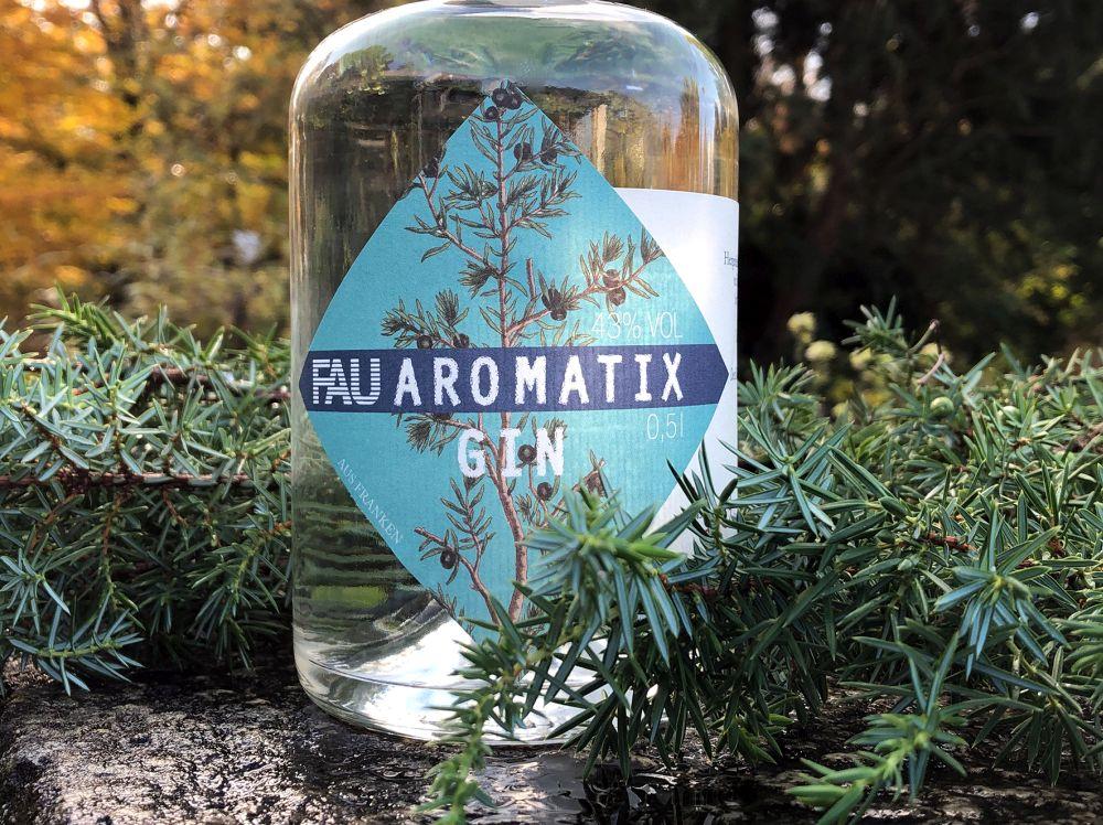 FAU-Aromatix-Gin-Flasche
