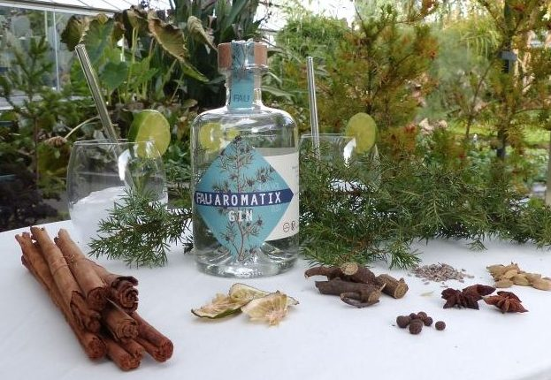 FAU Aromatix Gin Ingredients