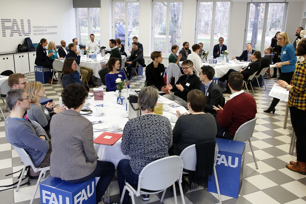 Module People am 28.11.2019 (Bild: FAU/Giulia Iannicelli)