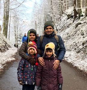 Gruppenbild mit Familie