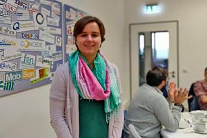 Prof. Koelewijn bei der Infoveranstaltung für Neuberufene
