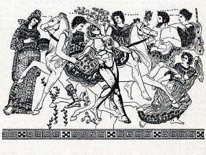 Antika Darstellung