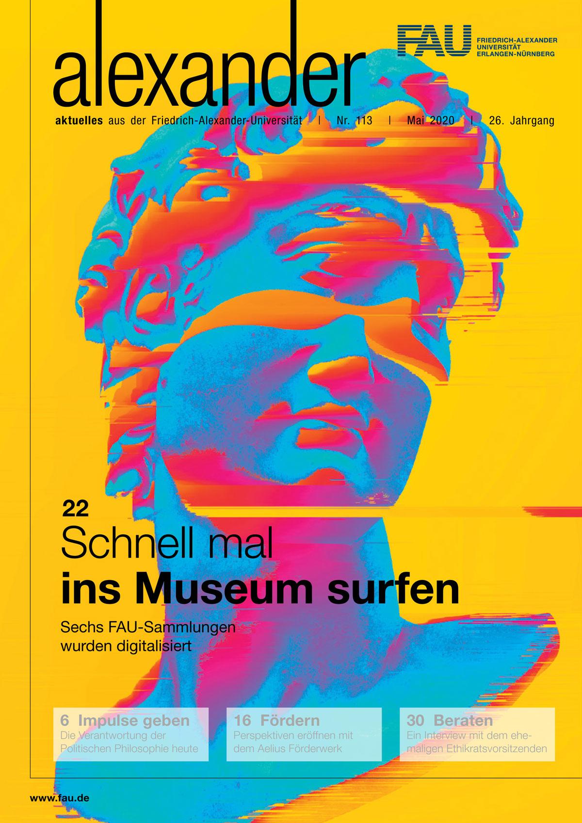 Cover des FAU-Magazins alexander