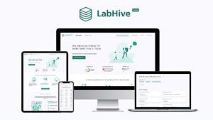 Screenshot der LabHive Plattform auf verschiedenen Geräten.