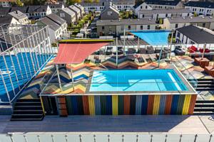 Dachterrasse mit Pool-
