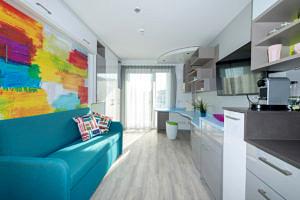 Blick in ein Apartment