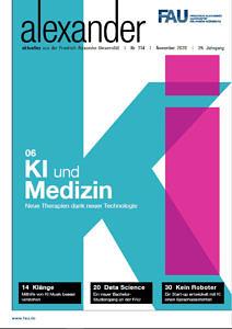 FAU Magazin alex Titel Ausgabe 114