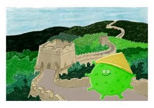 Corona-Illustration