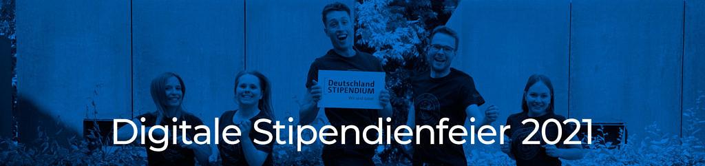 Banner Stipendienfeier 2021