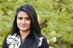 Portrait der Studentin Chandana