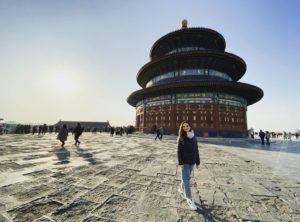 Portrait der Studentin Ani in Peking