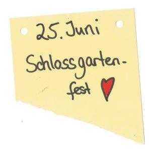 25. Juni Schlossgartenfest