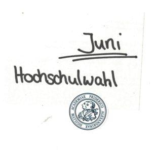 Juni Hochschulwahlen