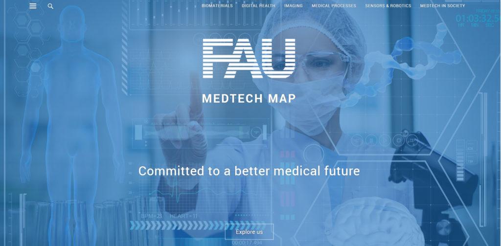 Screenshot Medtech-Map